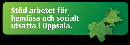 Stöd Uppsala Stadsmission