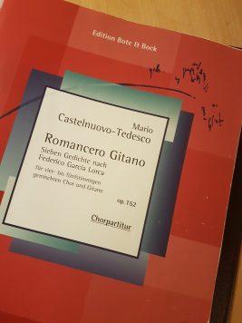 Canorus sjunger Romancero Gitano.